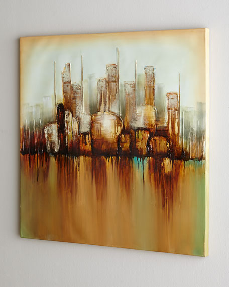 """Cityscape"" Painting"