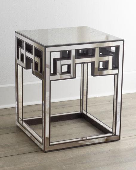 Fretwork Coffee Table.Mia Fretwork Side Table
