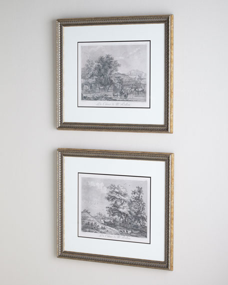 Two Landscape Prints