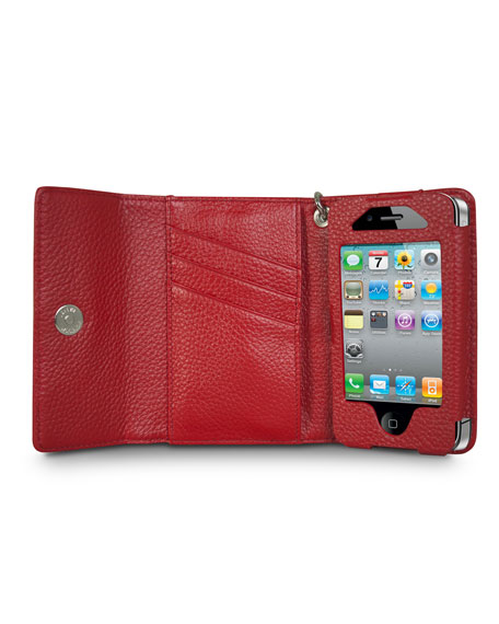 Pebble Leather iPhone 4/4S Wallet