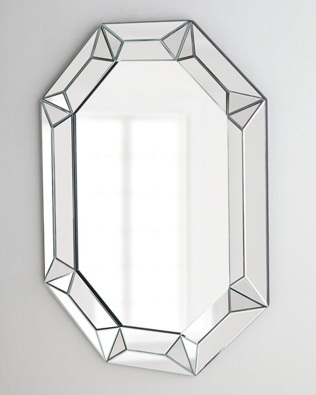Elongated Octagonal Mirror
