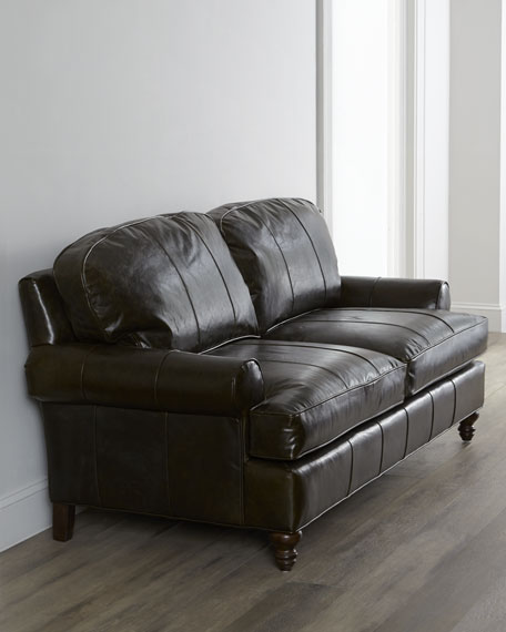 """Freestone"" Leather Sofa"