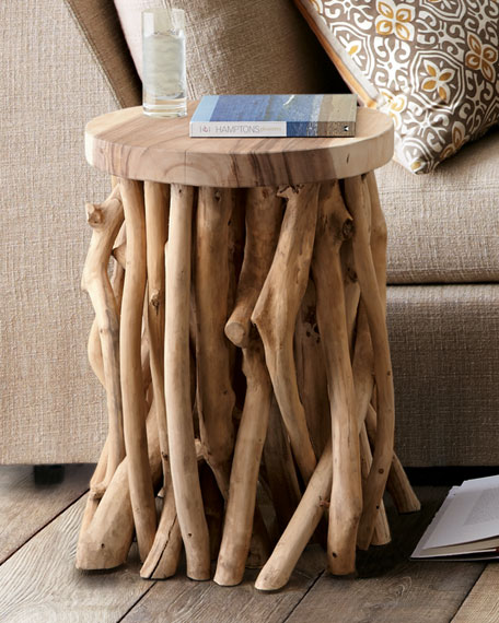 Twisted Root Side Table