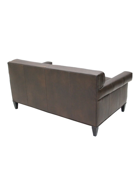 """Lambert"" Leather Loveseat"