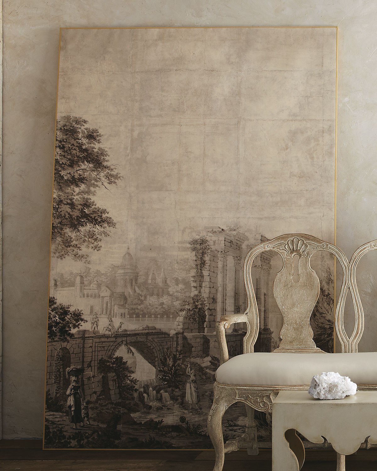 1000 images about la maison grisaille on pinterest for Anthropologie arcadia mural