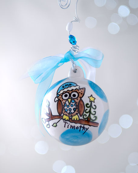 Personalized Ball Ornament