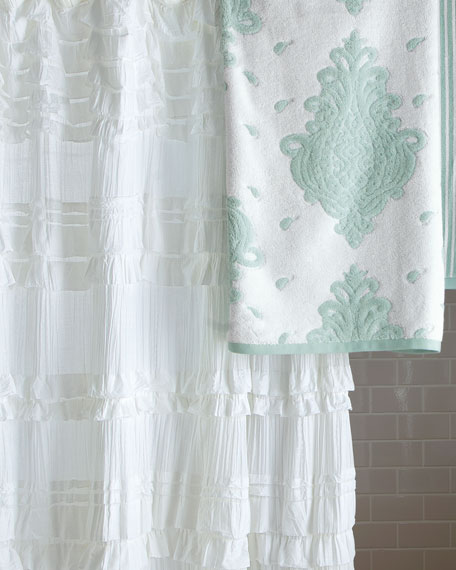 """Flores"" Shower Curtain"