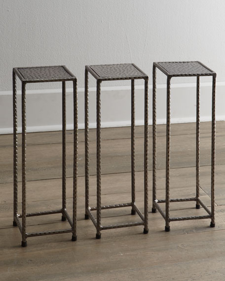 "Three ""Murl"" Martini Tables"