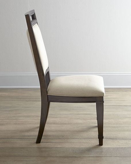 """Two """"Paulette"""" Side Chairs"""