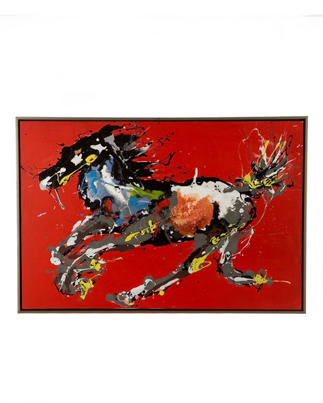 Running Horse Abstract