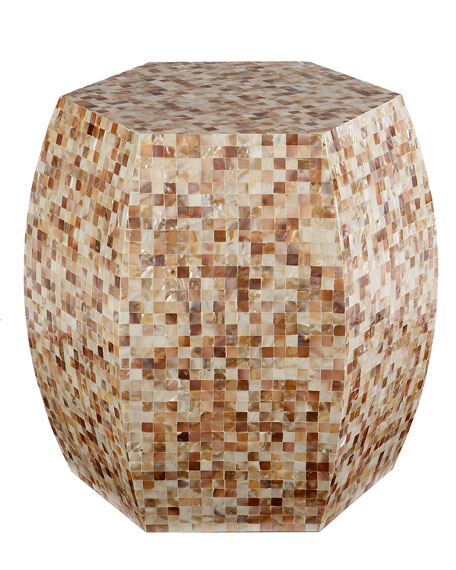 Mother-of-Pearl Garden Seat