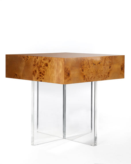"""Bond"" Lucite End Table"