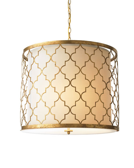 """Latticework"" Chandelier"
