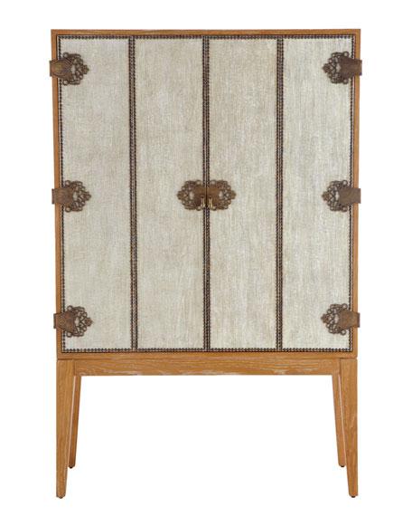"""""""Carmella"""" Bookcase/Bar Cabinet"""