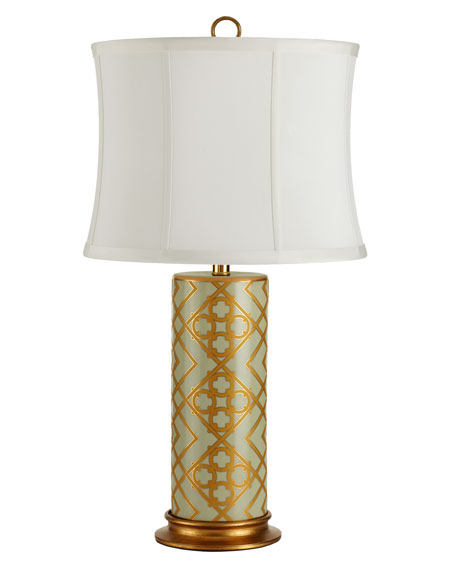 """Golden Mint"" Lamp"