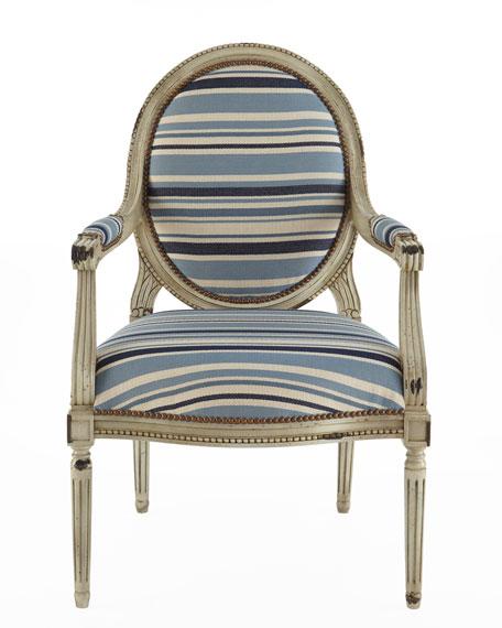 """""""Marina"""" Striped Chair"""
