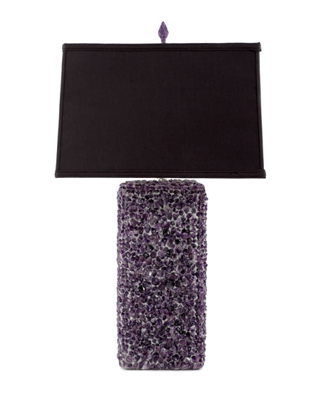 Amethyst Gemstone Lamp