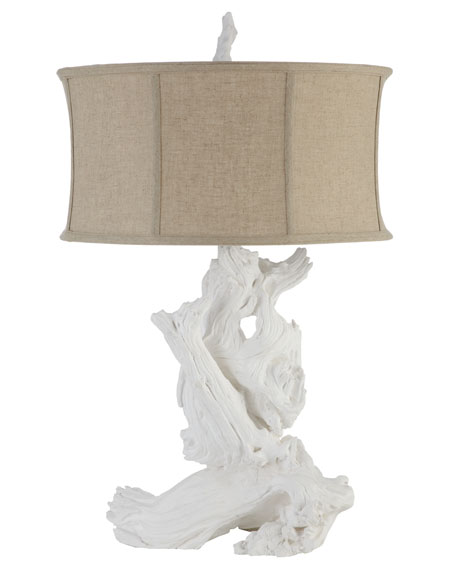 White driftwood table lamp mozeypictures Gallery