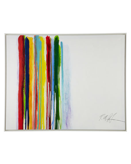 """Spilled Stripes"" Giclee"