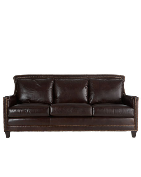 Ferguson Copeland Ltd Quot Justin Quot Leather Sofa