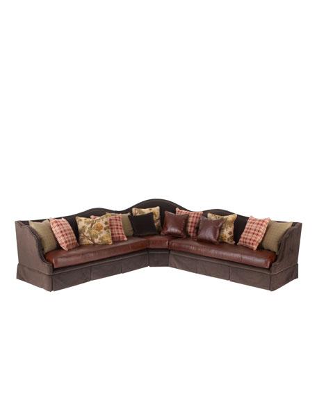 """Macey"" Sectional Sofa"
