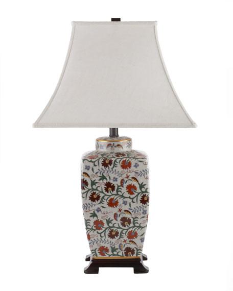 """""""Serena"""" Floral Lamp"""