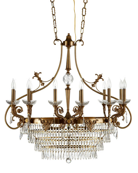 """Island Crystal"" Chandelier"