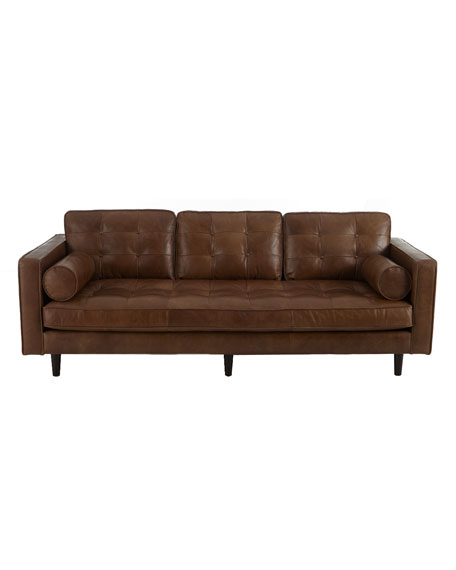 Albania Leather Sofa