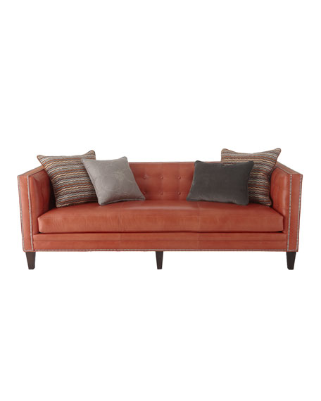 """Sherry"" Leather Sofa"