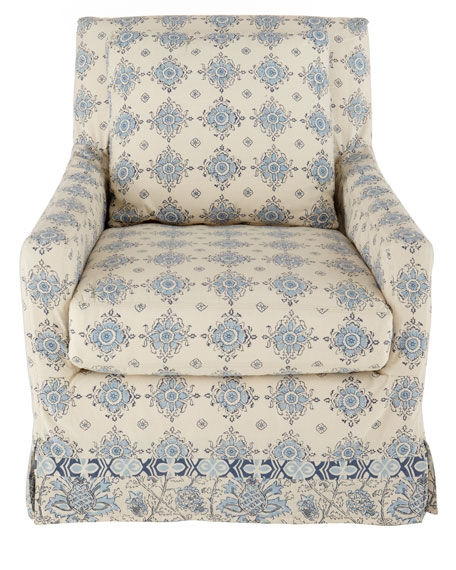 """Gabriel"" Slipcover Chair"