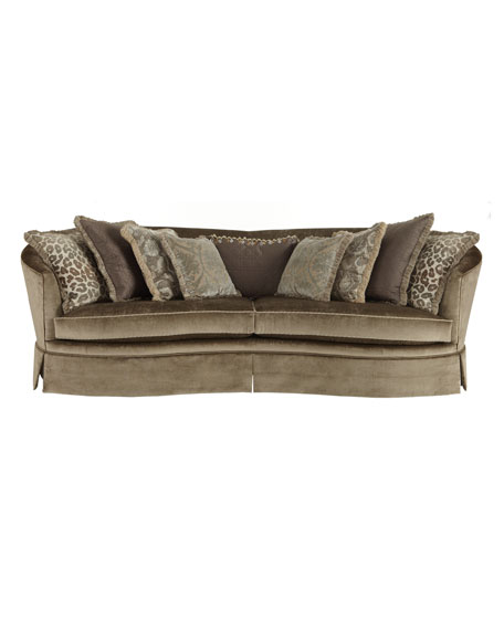 """Andrea"" Skirted Sofa"