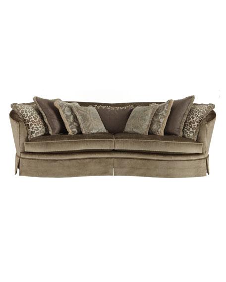 """""""Andrea"""" Skirted Sofa"""
