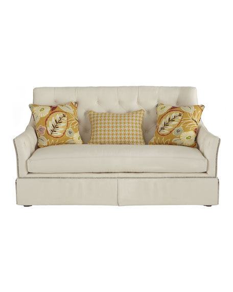 """Charlotte"" Skirted Sofa"
