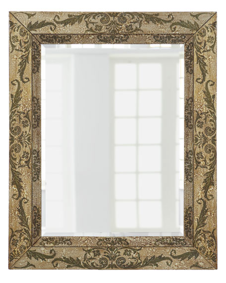 Etched Acanthus Mirror