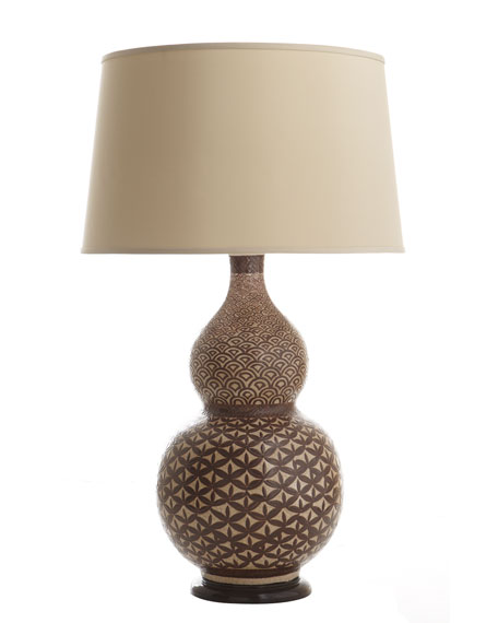 African Gourd Lamp