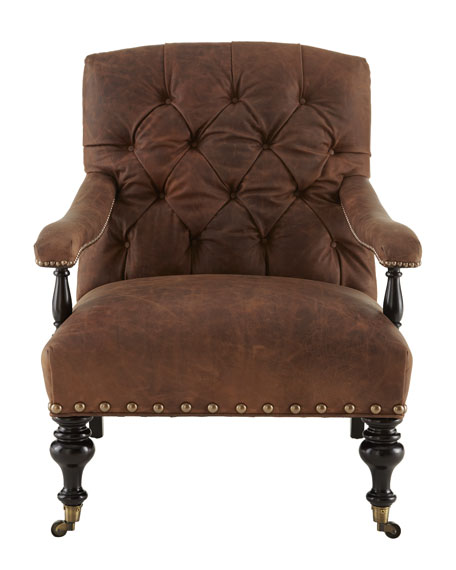 """Wiley"" Leather Chair"