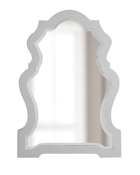White-Framed Mirror