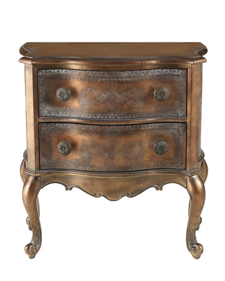 """Bellamy"" French Two-Drawer Chest"