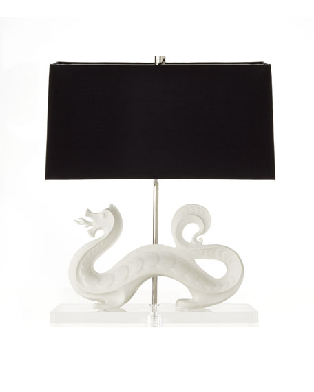 White Dragon Lamp