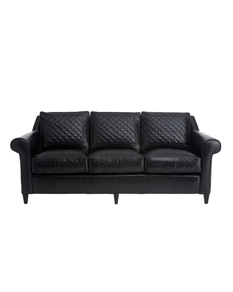 """Capetown"" Leather Sofa"