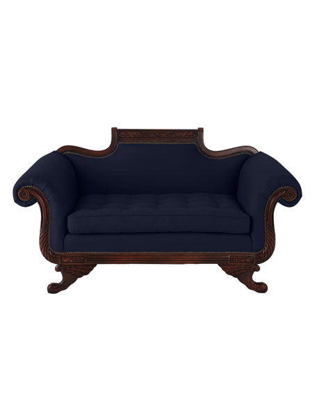 """Ellsworth"" Duncan Loveseat"