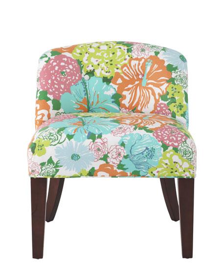 """Canna"" Vanity Chair"