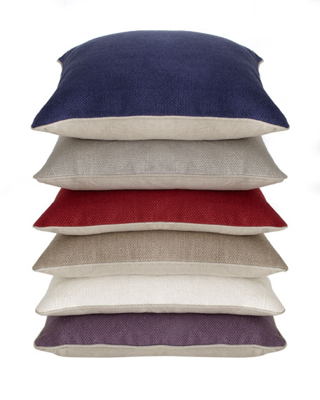 """Willow Basketweave"" Pillow"