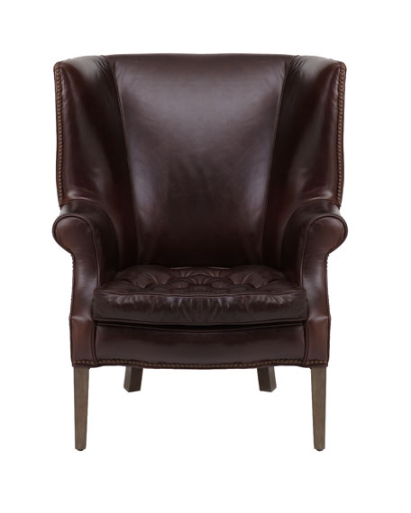 """Connor"" Leather Chair"