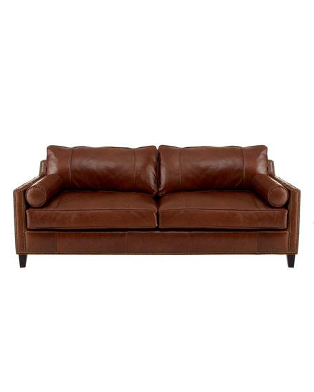"""Meridian"" Leather Sofa"