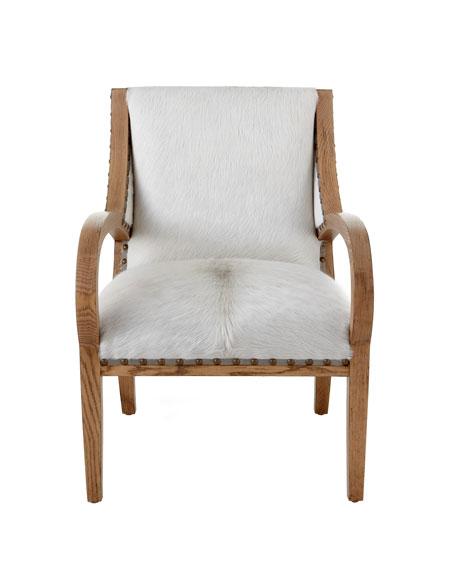 """""""Camargo"""" Hairhide Chair"""