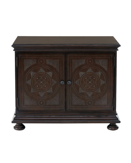 Two-Door Medallion Chest