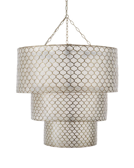 Three-Tier Moroccan Five-Light Pendant