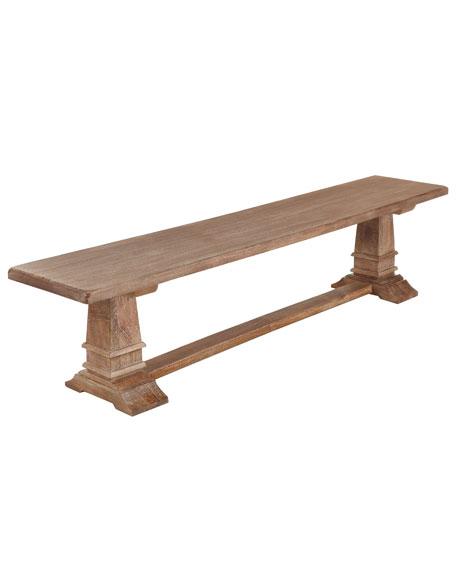 """Santa Rosa"" Dining Bench"