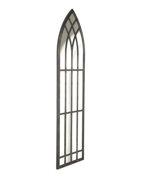 """Belmont"" Cathedral Floor Mirror"